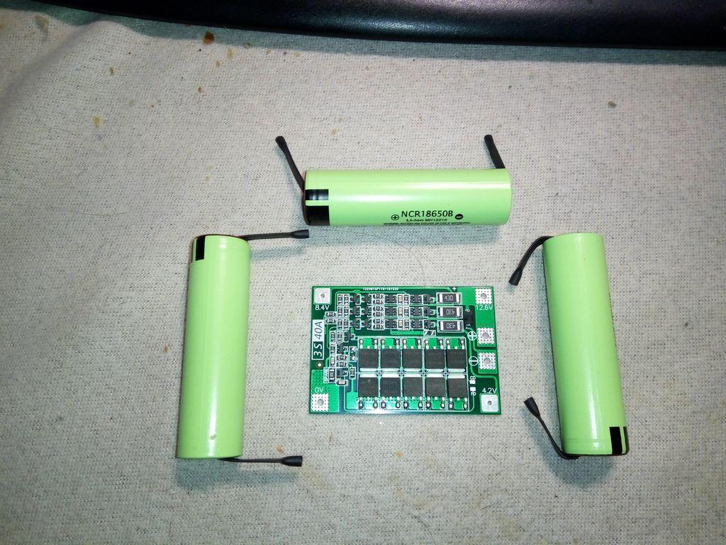Комплект батареи с платой защиты