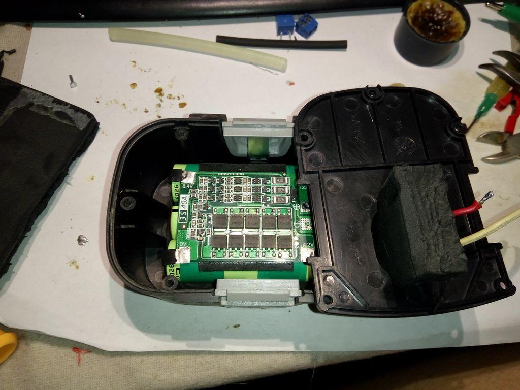 Размещение батарей в корпусе