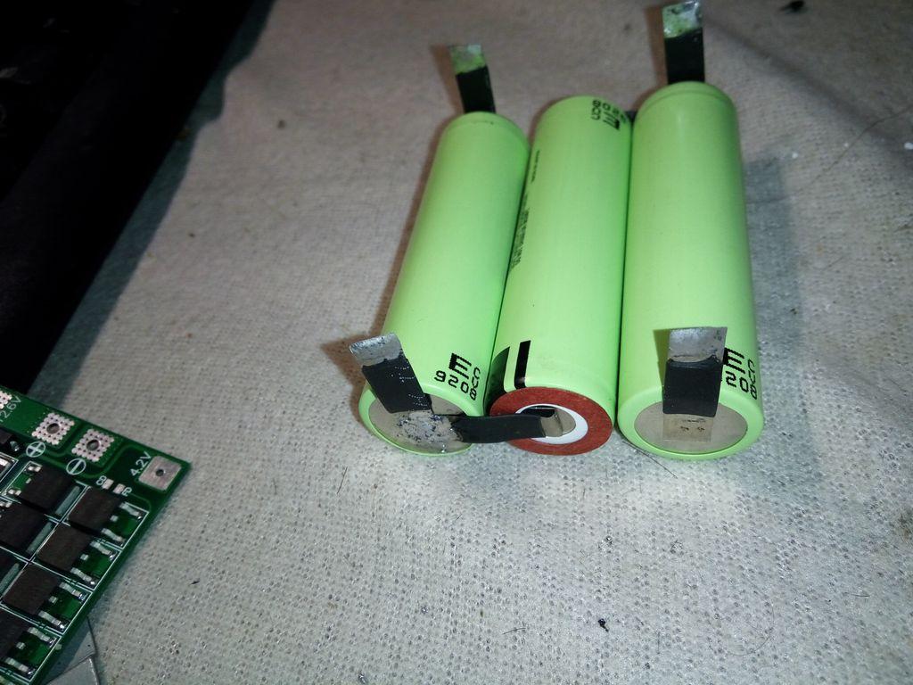Последовательное соединения литиевых батарей сторона 2